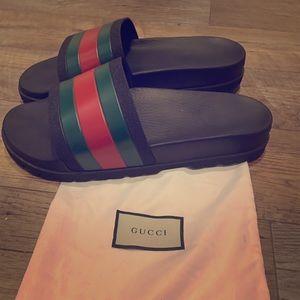 Men's Gucci Slides Size 13